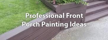 Patio Paint Designs Porch Painting Ideas Porch Columns Design Options For Curb Appeal