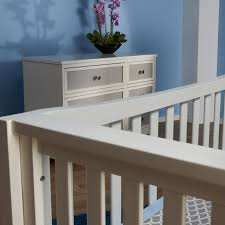 Pali Toddler Rail Pali Cortina Forever Crib In White Grey Free Shipping 799 99