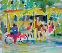 watercolor aquarelle kim weissenborn vero beach fl