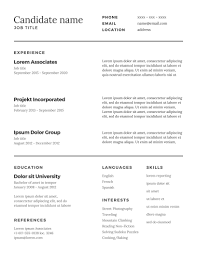 a template of a cv the ultimate guide to the perfect cv alexander knight recruitment