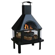 Mexican Outdoor Fireplace Chiminea Outdoor Fireplaces