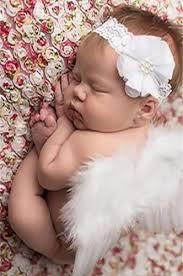 headband newborn white feather angel wings with lace flower headband newborn baby