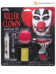Halloween Makeup Sets by Killer Clown Make Up Kit Fancy Dress Halloween Costume Face