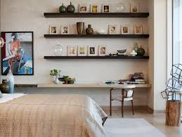 bedroom shelves w dallas penthouse