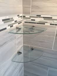 Glass Bathroom Corner Shelves Best 25 Shower Corner Shelf Ideas On Pinterest Bath With Inside