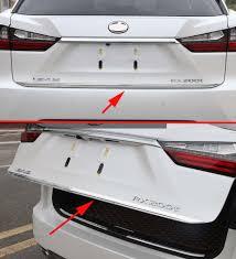 lexus rx450h singapore rear trunk cover molding trim for 2016 2017 lexus rx350 rx450h