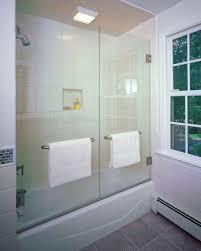 Shower Doors On Tub Glass Door For Bathtub Bathroom Gregorsnell Glass Doors For