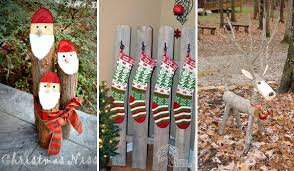 christmas decorations home 28 ideas to decorate your home with recycled wood this christmas