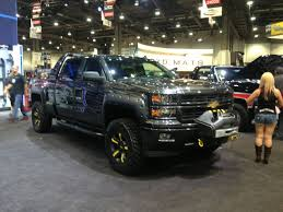 chevy concept truck chevy booth trucks at the 2013 sema show truckin magazine