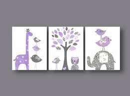 Elephant Wall Decal For Nursery by Baby Nursery Art Nursery Wall Art Nursery Print By Galerieanais