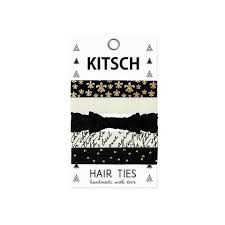 kitsch hair ties hair ties the girl and the water