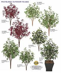 artificial small outdoor trees other artificial outdoor plants