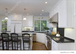 kitchen white kitchens with stainless steel appliances deck hall