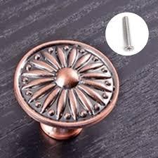 boutons de portes de cuisine 10 pcs rétro bronze cuisine cabinet boutons de portes d