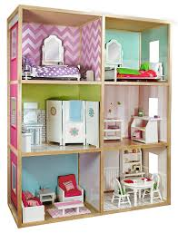 amazon com my u0027s dollhouse for 18 u0027 u0027 dolls modern home style