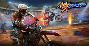 free motocross racing games mx nitro review