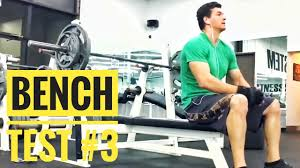 bench test 3 max reps with 185lbs 12 reps 185 for reps youtube
