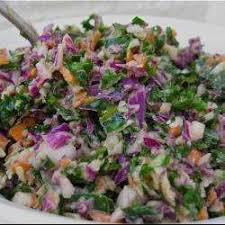 cuisiner le chou frisé recette salade de choux multiples toutes les recettes allrecipes
