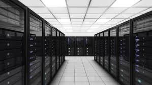 data center servers computer servers in a data center loopable blue technology