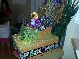 mardi gras float themes laynie s mardi gras shoe box float misc stuff mardi