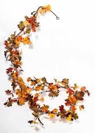 fall garland miniature artificial oak leaf garland garlands floral supplies
