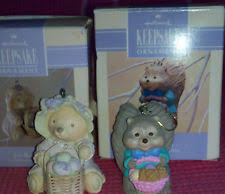 Vintage Hallmark Easter Decorations by Hallmark Easter Ornaments Ebay