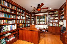 100 library office built in bookcase with swing arm sconces library office 5774 malvern ct san diego ca marta stasik broker