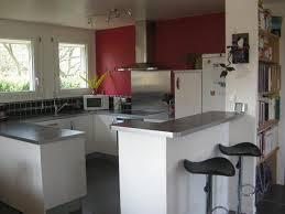 cuisine ouverte avec bar sur salon lovely idee bar cuisine ouverte 3 cuisine enti232rement