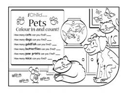 colour u0026 count pets ichild