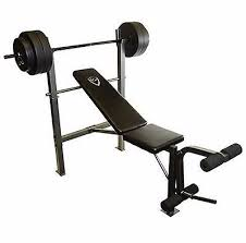 Home Bench Press Workout 2 In 1 Bench Press Machine 100 Lbs Weight Set Home Gym Workout