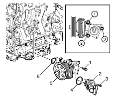 chevy malibu manual repair instructions off vehicle water pump installation ltg
