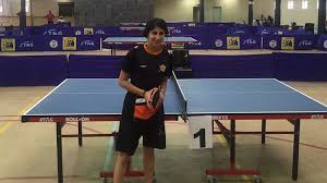 Table Tennis Championship Uj U0027s Patel Takes Back Ussa Table Tennis Title