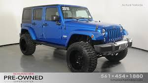 certified jeep wrangler certified pre owned 2015 jeep wrangler for sale in delray fl