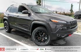jeep granite crystal new 2018 jeep cherokee trailhawk cuir bluetooth granite