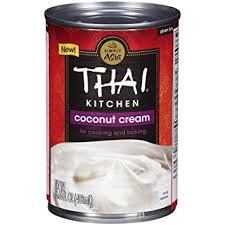 amazon com thai kitchen coconut cream 13 66 fl oz grocery
