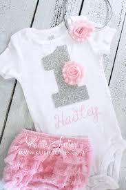 birthday onesie kutie tuties pink silver birthday onesie set 1 one gray