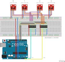 Multiplex Definition Arduino Mega Multiple Mpu9250 Using Multiplexer Arduino Stack