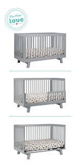 Crib 3 In 1 Convertible Interior Babyletto Hudson Crib In Stunning 3 1