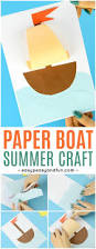 simple paper boat craft easy peasy and fun