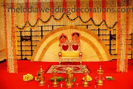 hindu wedding decorations melodiaweddingdecoration stage decorators thrissur