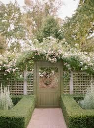 garden trellis with gate home outdoor decoration