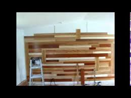 wood flooring on walls by robert n sosa