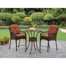 Balcony Bistro Set Patio Furniture Better Homes And Gardens Azalea Ridge 3 Balcony Bistro Set