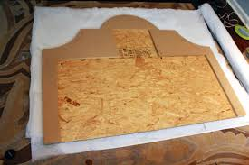Wood To Build A Platform Bed by Diy Upholstered Platform Bed With Curved Fabric Headboard