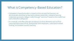 competency based education 11 17 14