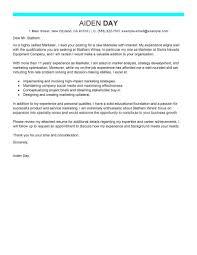 marketing cover letter best marketing cover letter exles livecareer