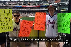 Hunter Pence Memes - mets fans give hunter pence the buisness imgur