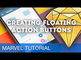 creating floating action buttons u2022 prototyping with marvel