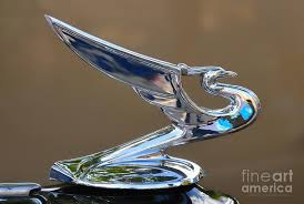 radiator cap vintage chevy ornament photograph by clare