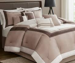 Duvet And Comforter Images Biglots Com Hotel Taupe Chocolate And Ivory